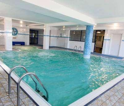 Hotel Cattolica con piscina interna